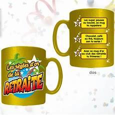 idee cadeau retraite original mug r 232 gles d or de la retraite pour faire un cadeau retraite original sur rapid cadeau
