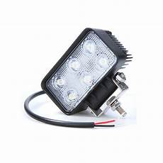 Phare De Travail Rectangle 6 Led 12 24v 1350lm