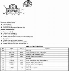 Wiring Diagram Or Schematic For An 2008 Sts V Bose System