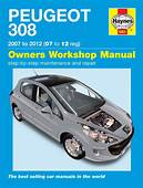 HAYNES WORKSHOP CAR REPAIR OWNERS MANUAL PEUGEOT 308