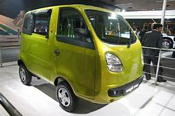 Scoop Tata Nano Based Iris Mini Van And Penguin Pickup