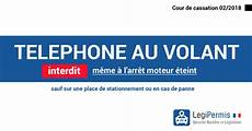 Le T 233 L 233 Phone Au Volant Est Interdit 224 L Arr 234 T Legipermis