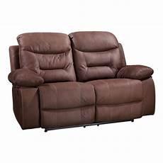 2 sitzer sofa dunkelbraun mit relaxfunktion