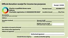 sle official donation receipts canada ca