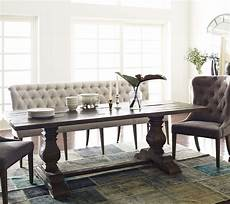 Upholstered Dining Room Bench With Back tufted upholstered dining bench banquette zin home