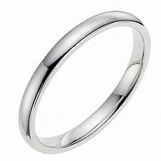 18ct white gold 2mm wedding ring ernest jones