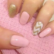 pink gold nail art nail art pinterest