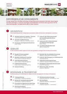 Formulare Checklisten Vorlagen F 252 R Immobilienunternehmen