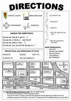 directions exercises doc 11666 19 best images about giving directions on and activities