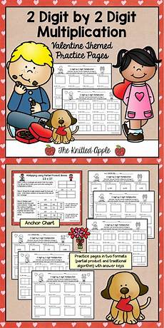2 digit by 2 digit multiplication theme 4th