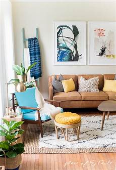 boho style wohnen and bright boho living room decor