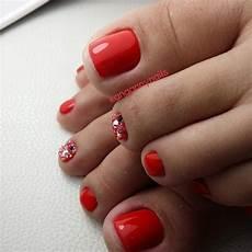 red toe nailart toe nails toe nail designs