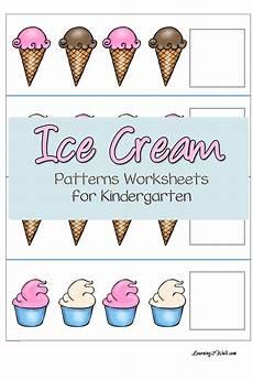 free ice patterns worksheets for kindergarten free homeschool deals