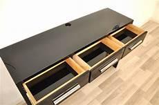 klavierlack konsole im bauhaus stil ebay
