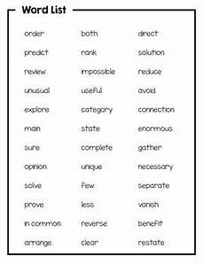 2nd grade academic vocabulary daily activities to boost