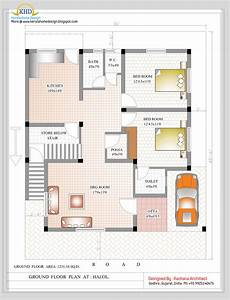 duplex house plan and elevation 2349 sq ft indian