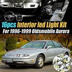 automotive service manuals 1996 oldsmobile aurora interior lighting 16pc super white car interior led light bulb kit for 1996 1999 oldsmobile aurora ebay