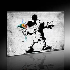 Leinwandbilder Org Banksy Dolk Mickey Mouse