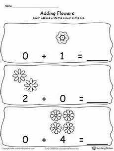 addition worksheets with zero 9669 adding numbers with flowers using zeros pictures of pictures of flowers and math
