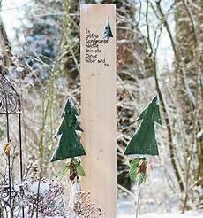 winterliche garten stelen topp bastelb 252 cher