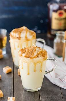 homemade salted caramel eggnog recipe easy eggnog recipe