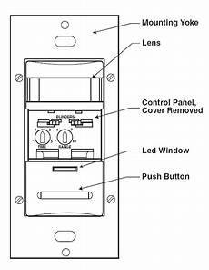 leviton decora 174 manual occupancy sensor