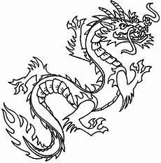 Ausmalbilder Chinesische Drachen Drawing At Getdrawings Free