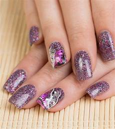 Glitter Nail Ideas Step By Step Tutorials For