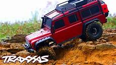 traxxas land rover rainy rc crawling traxxas trx 4 land rover defender