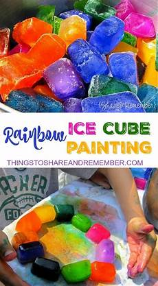 24 best images about paint on pinterest ice cubes gray rainbow ice cube painting