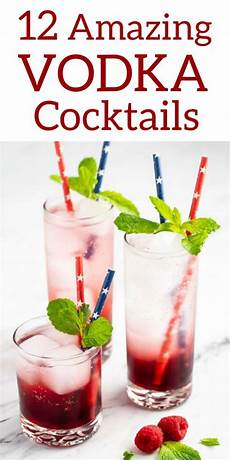 12 easy vodka cocktails a collection of simple and easy