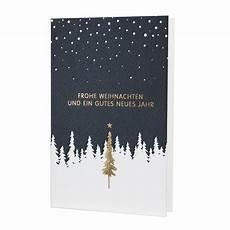 moderne weihnachtskarte sehr edel mit goldfolienpr 228 gung
