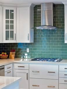 Green Glass Tiles For Kitchen Backsplashes Photos Hgtv