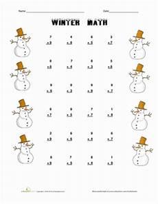 winter worksheets for grade 1 20001 winter math worksheet education