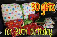 Geschenk 30 Geburtstag - elizabethany gift idea 30 gifts for 30th birthday