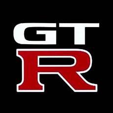 logo nissan gtr quot nissan gtr logo quot stickers by bp125 redbubble