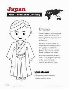 worksheets about japanese culture 19469 traditional japanese clothing worksheet education