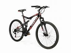 Vtt Tout Suspendu Moma Bikes Hit 26 Shimano 21v Noir