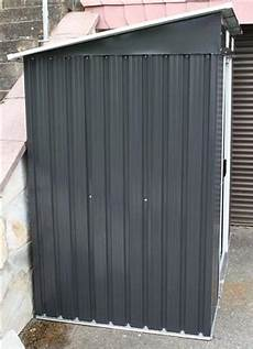 Gerätehaus Metall Pultdach - gartenhaus metall pultdach angebote auf waterige