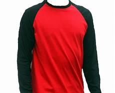 Kaos Polos Lengan Panjang Warna Merah Ide Perpaduan Warna
