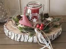 Weihnachts Tischdeko Freudenfeuer Winter And Craft