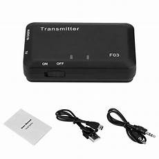 bluetooth transmitter tv test 3 5mm bluetooth hifi audio transmitter a2dp stereo adapter
