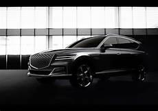 genesis gv90 flagship suv rendered looks like a cadillac escalade rival autoevolution