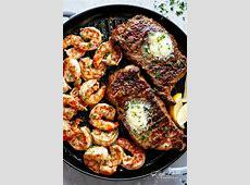 Garlic Butter Grilled Steak & Shrimp   Cafe Delites