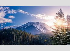 Banff Canada Landscape 5k trees wallpapers, scenery
