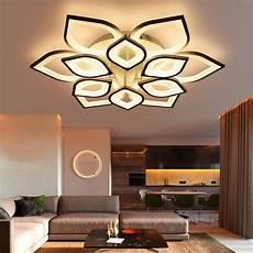 modern new acrylic modern led ceiling lights for living