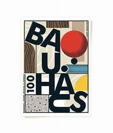 bauhaus poster label magazine on behance