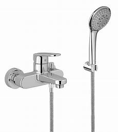 grohe europlus bath shower mixer tap with shower kit