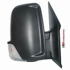 mercedes sprinter 2006 2013 black manual door wing mirror
