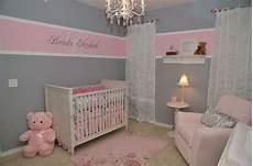 gestaltungsideen babyzimmer m 228 dchen grau rosa